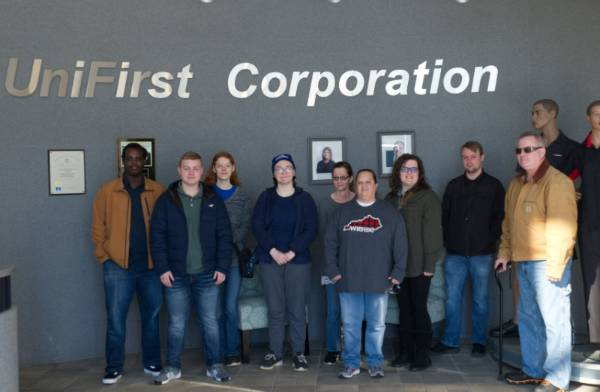 ACM Students Tour Unifirst